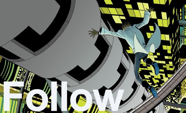 Brian K Vaughan and Marcos Martin tease a new project with this 'follow' promo
