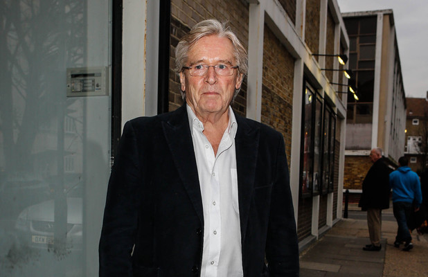 Coronation Street actor Bill Roache at Riverside Studios