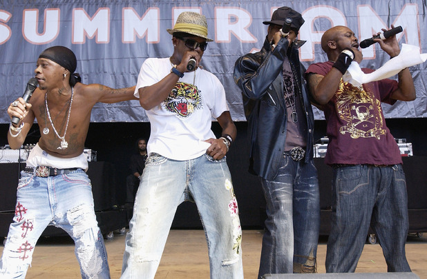 Jodeci perform in 2005.