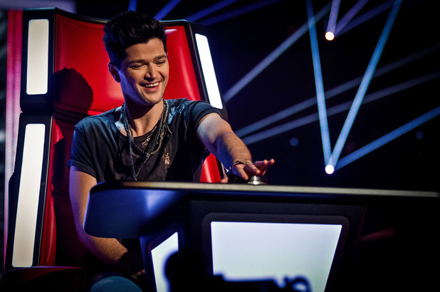 Danny O'Donoghue buzzes in during the blind auditions