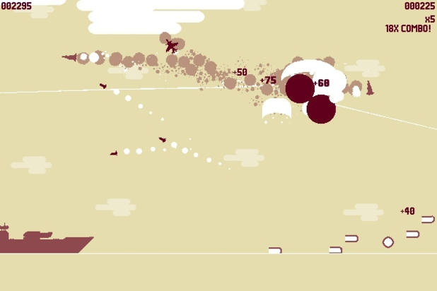 &#39;Luftrausers&#39; screenshot