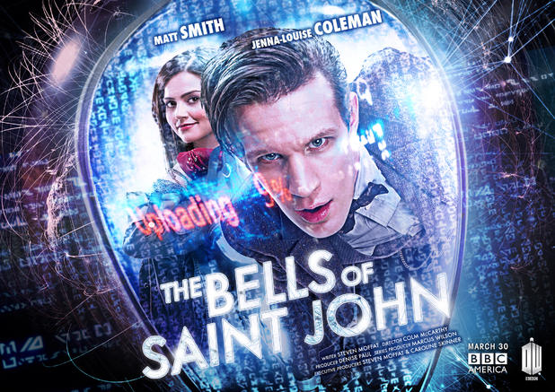 Doctor Who iconic poster: 'The Bells of St John'