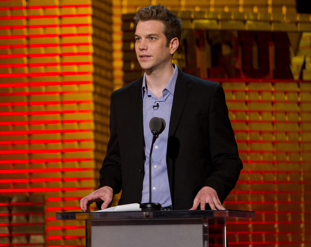 Anthony Jeselnik appears onstage at the Comedy Central Roast of Donald Trump in New York, Wednesday, March 9, 2011.