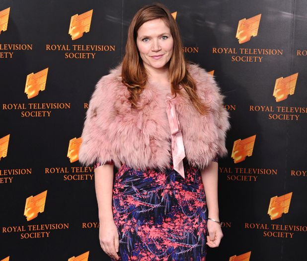 Jessica Hynes at the Royal Television Society Awards, Grosvenor House Hotel, London, Britain - 19 Mar 2013
