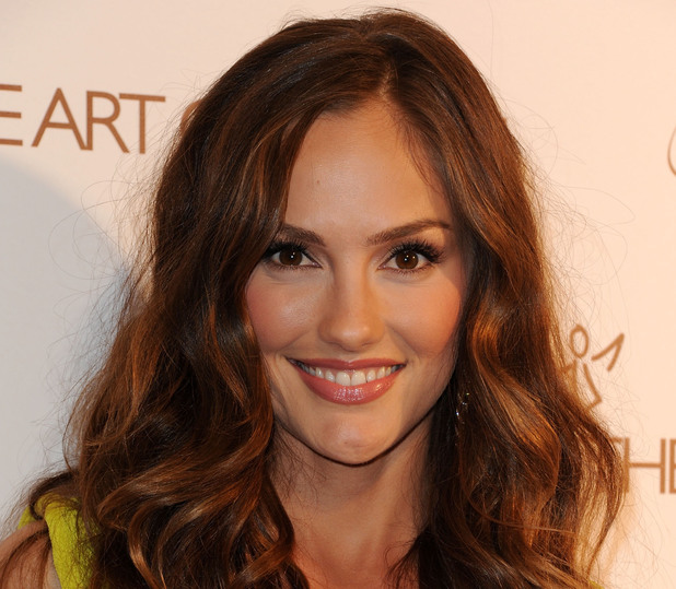 Minka Kelly arrives at The Art Of Elysium's 5th Annual Heaven Gala on January 14, 2012 in Los Angeles, California.