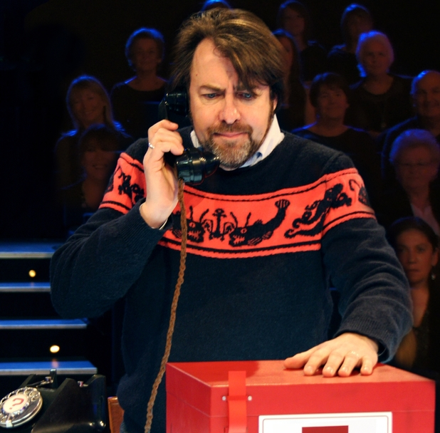 Jonathan Ross on Deal or no Deal