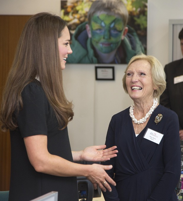 Kate Middleton, Mary Berry, Duchess of Cambridge, Child Bereavement UK