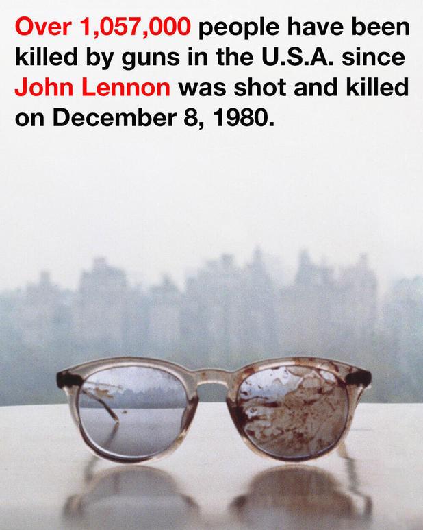 Yoko Ono Twitter post