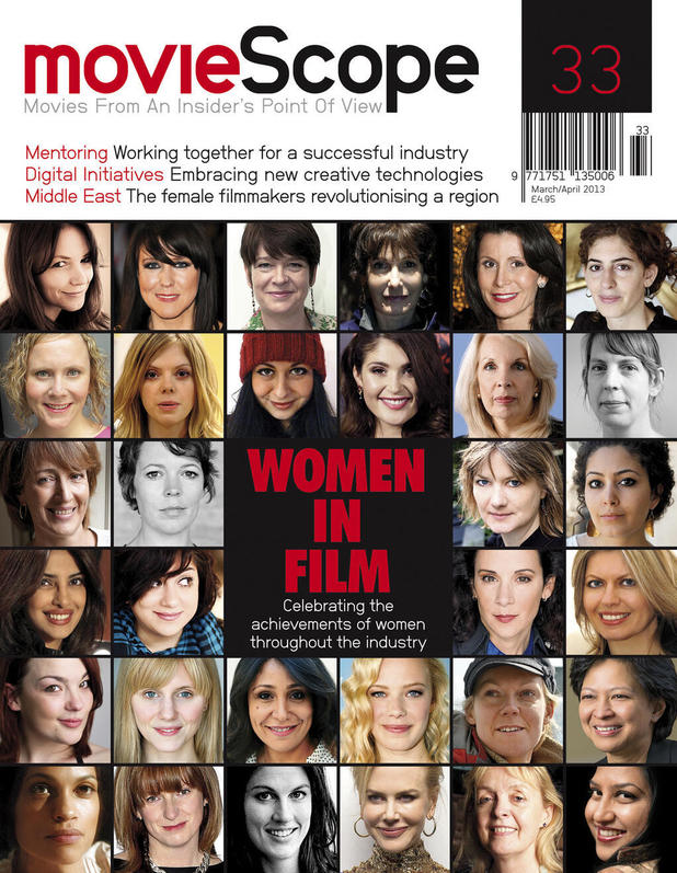Priyanka Chopra on cover on MovieScope 'women in film' issue