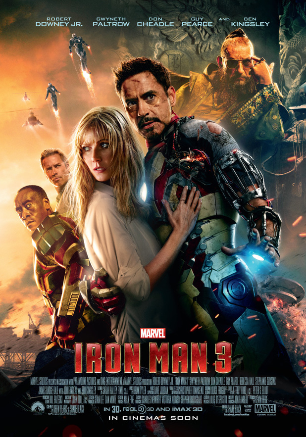 Iron Man 3 poster gallery