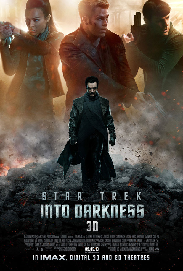 'Star Trek Into Darkness' hidden poster