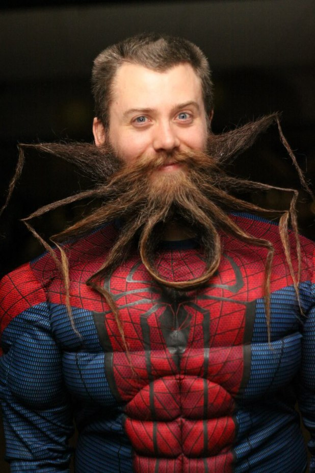 Chad Roberts's spider beard