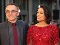 Rosario Dawson and Danny Boyle put break-up behind them at Trance premiere.