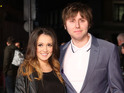 James Buckley and his wife Clair become parents for a second time.