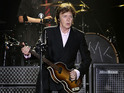 "McCartney joked with the crowd about ""strong weed"" at the Tennessee festival."