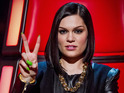 Jessie J during the blind auditions of 'The Voice UK' series 2 opening