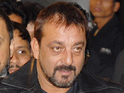 Dutt attended a special screening of PK with his family.