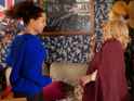 Julie sees Kirsty's nasty side once again on Coronation Street tonight.
