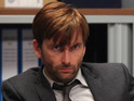 Tennant played the lead in ITV's original version of the crime drama.