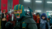 Hit-Girl takes centre stage in the new trailer for 'Kick-Ass 2'.