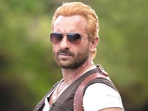 Saif Ali Khan as Boris the Zombie hunter in &#39;Go Goa Gone&#39;