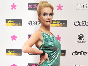 Kitty Brucknell, Skatta.tv Social Television Awards, London