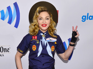 Madonna, scouts, GLAAD Media Awards