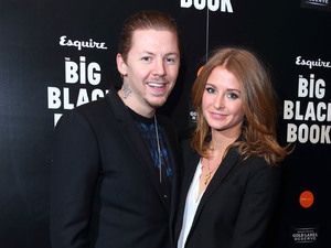 Professor Green, Millie Mackintosh, engagement, The Big Black Book launch party, Esquire