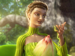 Beyoncé as Queen Tara in 'Epic'