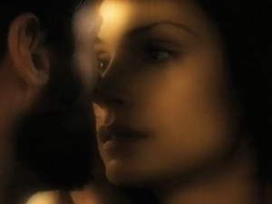 Famke Janssen, Hugh Jackman in The Wolverine