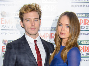 Sam Claflin, Laura Haddock, Empire Awards 2013