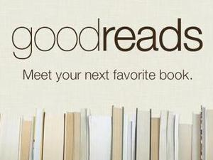 Screenshot of the 'Goodreads' website