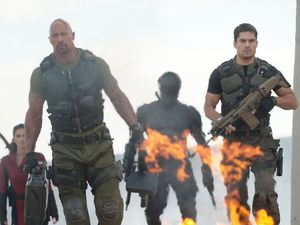 D.J. Cotrona, Dwayne Johnson, G.I. Joe: Retaliation, stills