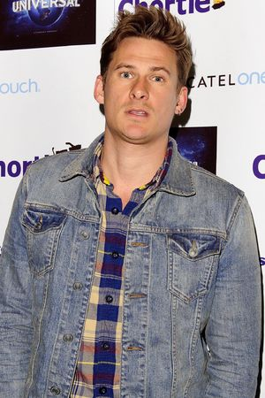Lee Ryan from Blue at the Chortle Awards