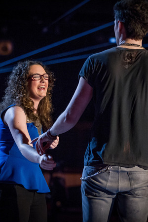 The Voice - Season 2, Episode 1: Danny O'Donoghue and Andrea Begley