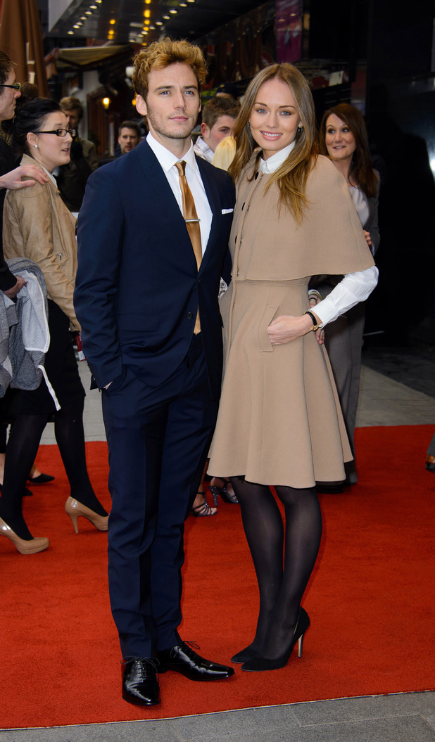 Sam Claffin & Laura Haddock