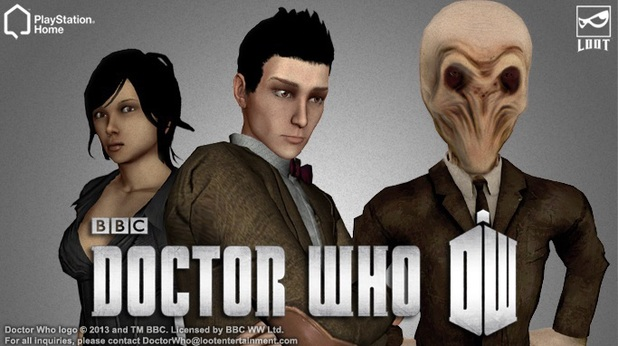 Doctor Who PlayStation Home