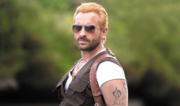 Saif Ali Khan as Boris the Zombie hunter in 'Go Goa Gone'