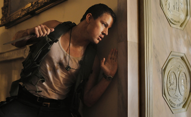 Channing Tatum in Rolan Emmerich's White House Down
