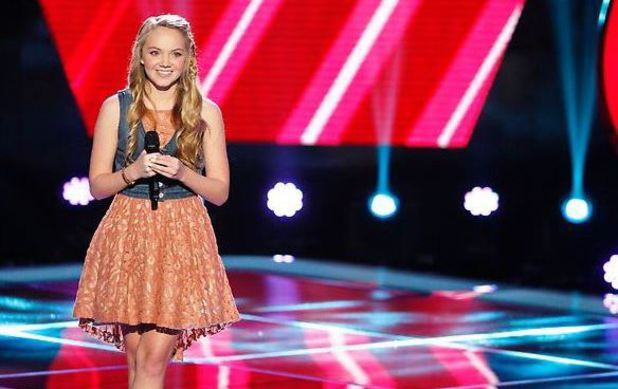 Danielle Bradbery performs on The Voice Season 4 premiere