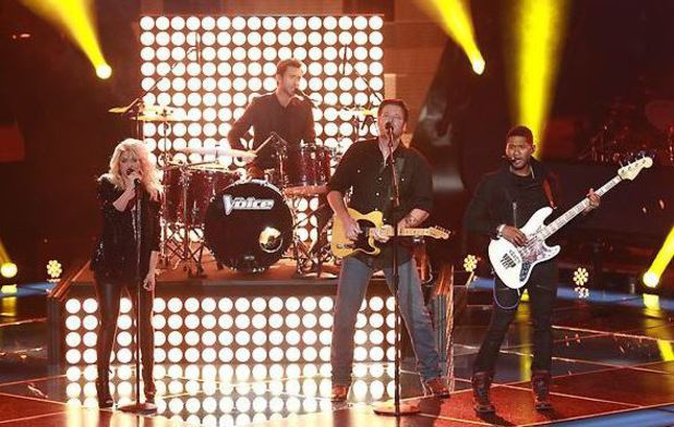 Shakira, Adam Levine, Blake Shelton, Usher perform on The Voice Season 4 premiere