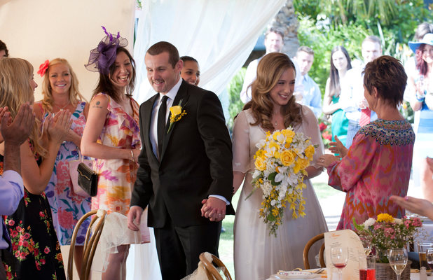 Toadie and Sonya's wedding