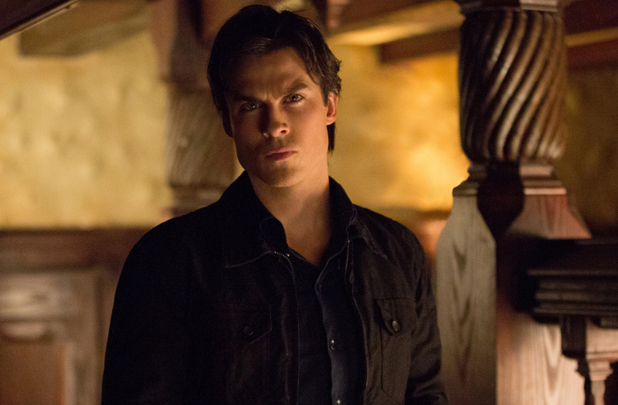 Ian Somerhalder as Damon in The Vampire Diaries S04E16: 'Bring It On'