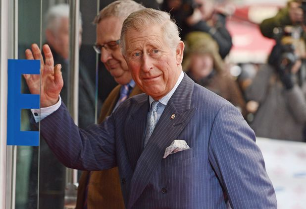 Prince Charles arriving at The Prince's Trust and Samsung Celebrate Success Awards at Odeon Leicester Square, London