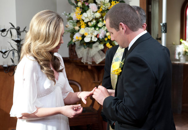 Toadie and Sonya say their vows