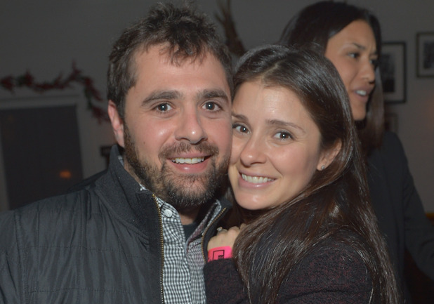 Shiri Appleby and fiancé Jon Shook
