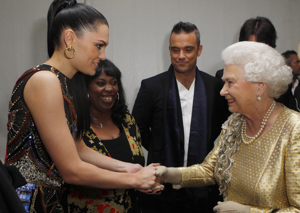 Meeting the Queen