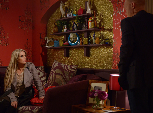 Kirsty tries to find out how Max feels about her being pregnant.
