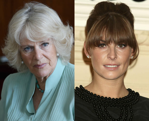 Duchess of Cornwall and Coleen Rooney