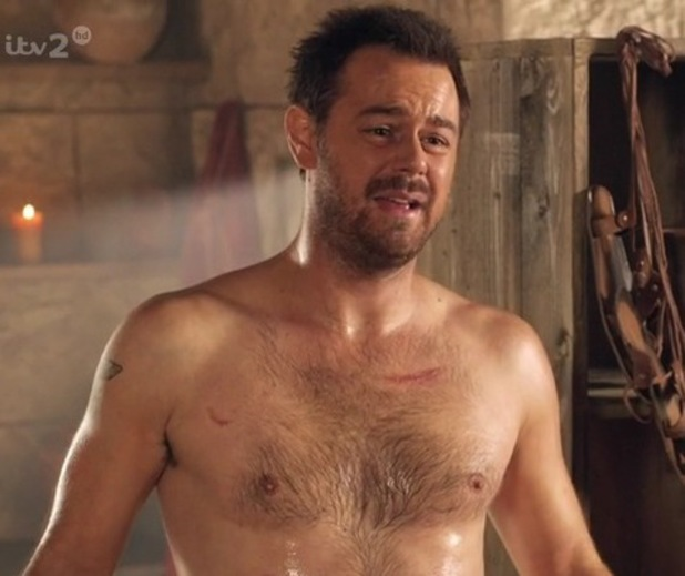 Danny Dyer naked in 'Plebs'